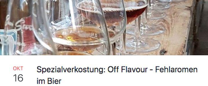 Off Flavour – Fehlaromen im Bier